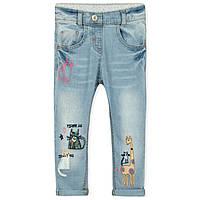 Модные джинсы для девочки на резинке Little Maven, для худышек (р.80,130)