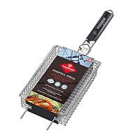 Решетка-гриль для мелких кусочков FORESTER BQ-N13 для мяса, птицы, рыбы, овощей, креветок и грибов
