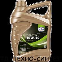 Синтетическое моторное масло Eurol Turbosyn 10W-40 (5л)