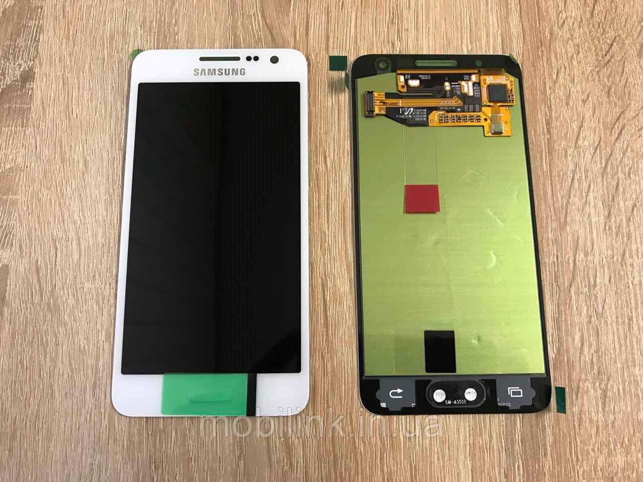 Дисплей на Samsung A300 Galaxy A3 Белый(White),GH97-16747A, Super AMOLED!