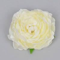 Головка Камелии 10 см белая