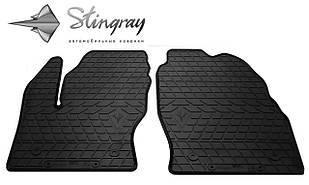 Ford Kuga  2013- Комплект из 2-х ковриков Черный в салон