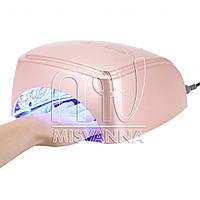 Профессиональная УФ лампа HD-60 LED+CCFL на 60 Вт с таймером 30,60,90,120 сек. (pink)