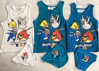 Комплект нижнего белья для мальчиков AngryBirds 98/104-134 p.p.