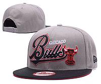 Кепка New Era NBA Chicago Bulls Snapback Grey/Black