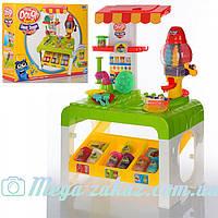 Игровой набор для лепки (пластилин для лепки) Sweet Shoppe: игровой столик + пресс + 8 цветов