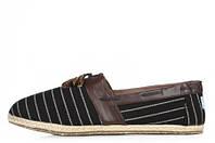 Слипоны мужские Toms Classic Slip-On black-brown