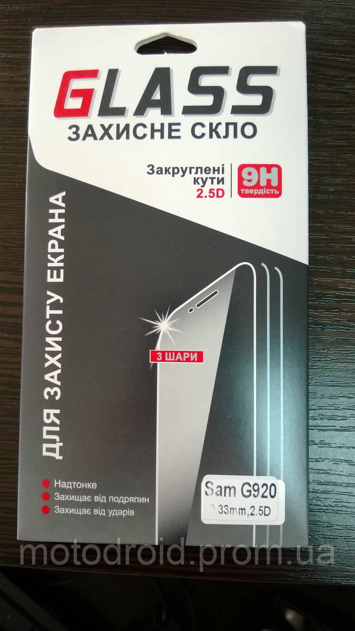 Захисне скло для Samsung Galaxy S6