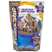 Песок для детского творчества - KINETIC SAND BEACH натуральный цвет, 1 360 г (71435)