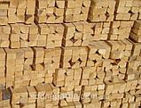 Брус монтажный строганый с 4-х сторон сухой  45х45, 50х50 и др., фото 4