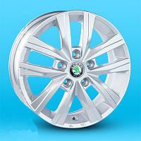 Литые диски Replica Volkswagen (JT1691) R16 W6.5 PCD5x112 ET45 DIA57.1 (silver)