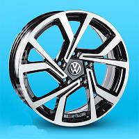 Литые диски Replica Volkswagen (JT1690) R17 W7.5 PCD5x112 ET45 DIA57.1 (BF)
