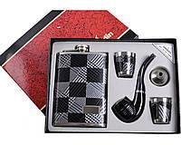 Подарочный набор 5в1 Фляга, Рюмки, Трубка, Лейка DJH-0739