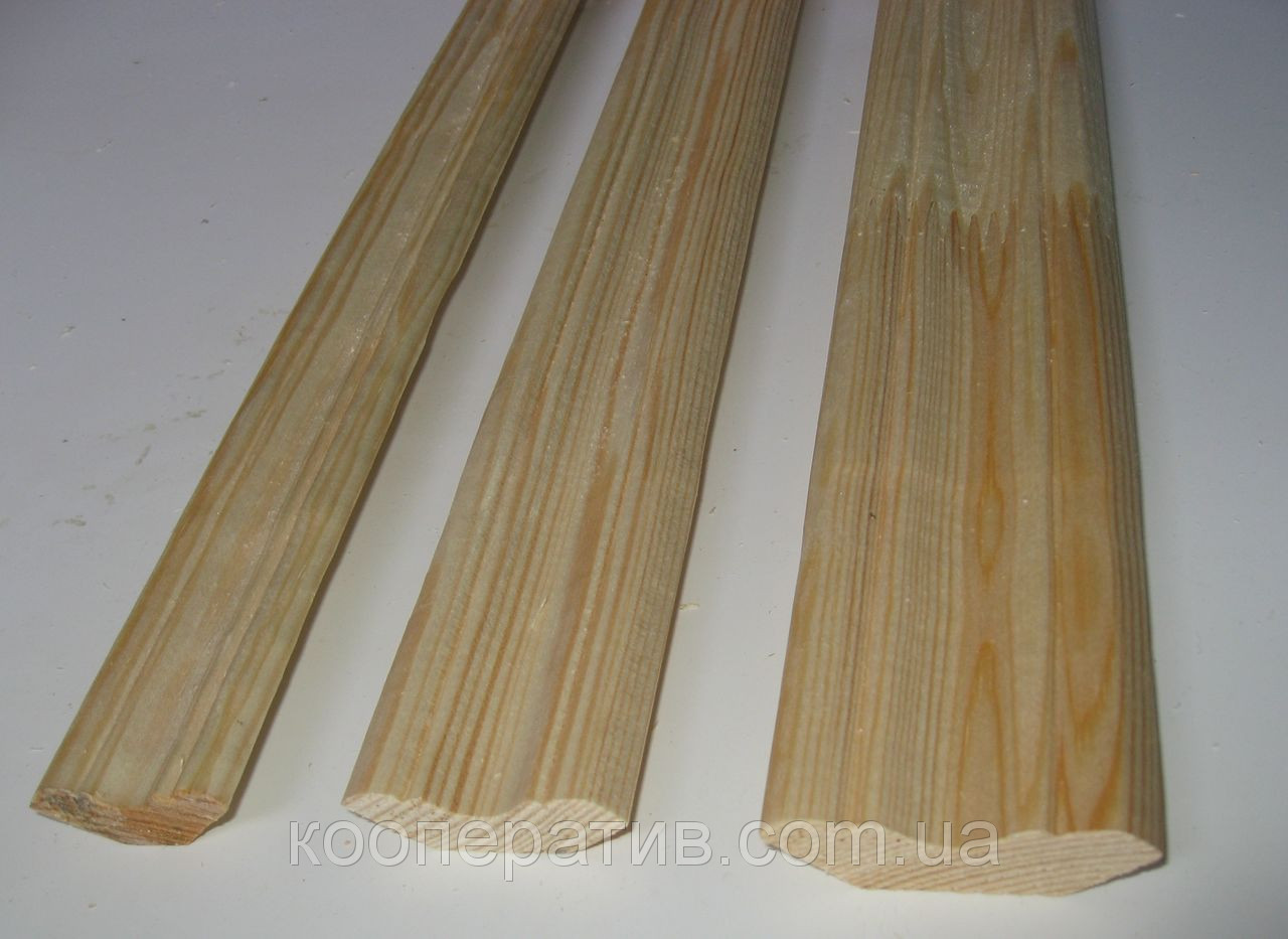 Плинтус напольный от производителя 1 сорт сосна L=2.0м