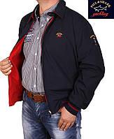 Куртка мужская,двухсторонняя Paul Shark-046 красная,большого размера