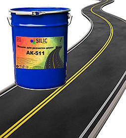 Краска для разметки дорог АК - 511