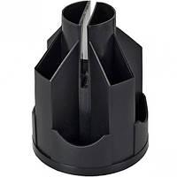 Органайзер настольный пластиковый Ракета 14х10,5 см, 10 отд.