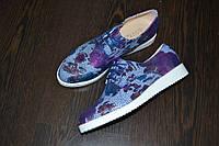 Модные туфли с лазерным напылением, 36,37,38,39,40,41р