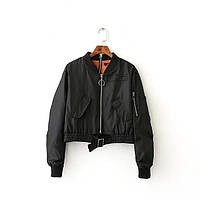 Укороченная  куртка, 2 цвета, фото 1