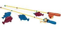 Игровой набор МАГНИТНАЯ РЫБАЛКА 2 удочки, 4 рыбки Battat Lite (BT2434Z)