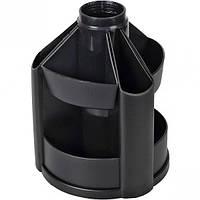 Органайзер настольный пластиковый Вертушка 14х10,5 см (малый), 10 отд.