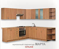 "Кухня ""Марта"" Длина 3.8м, Цена без столешницы, под заказ другой размер."