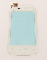 Тачскрин / сенсор (сенсорное стекло) для Fly E154 (белый цвет)