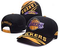 Кепка Adidas NBA Los Angeles Lakers Peaked Cap Black/Yellow