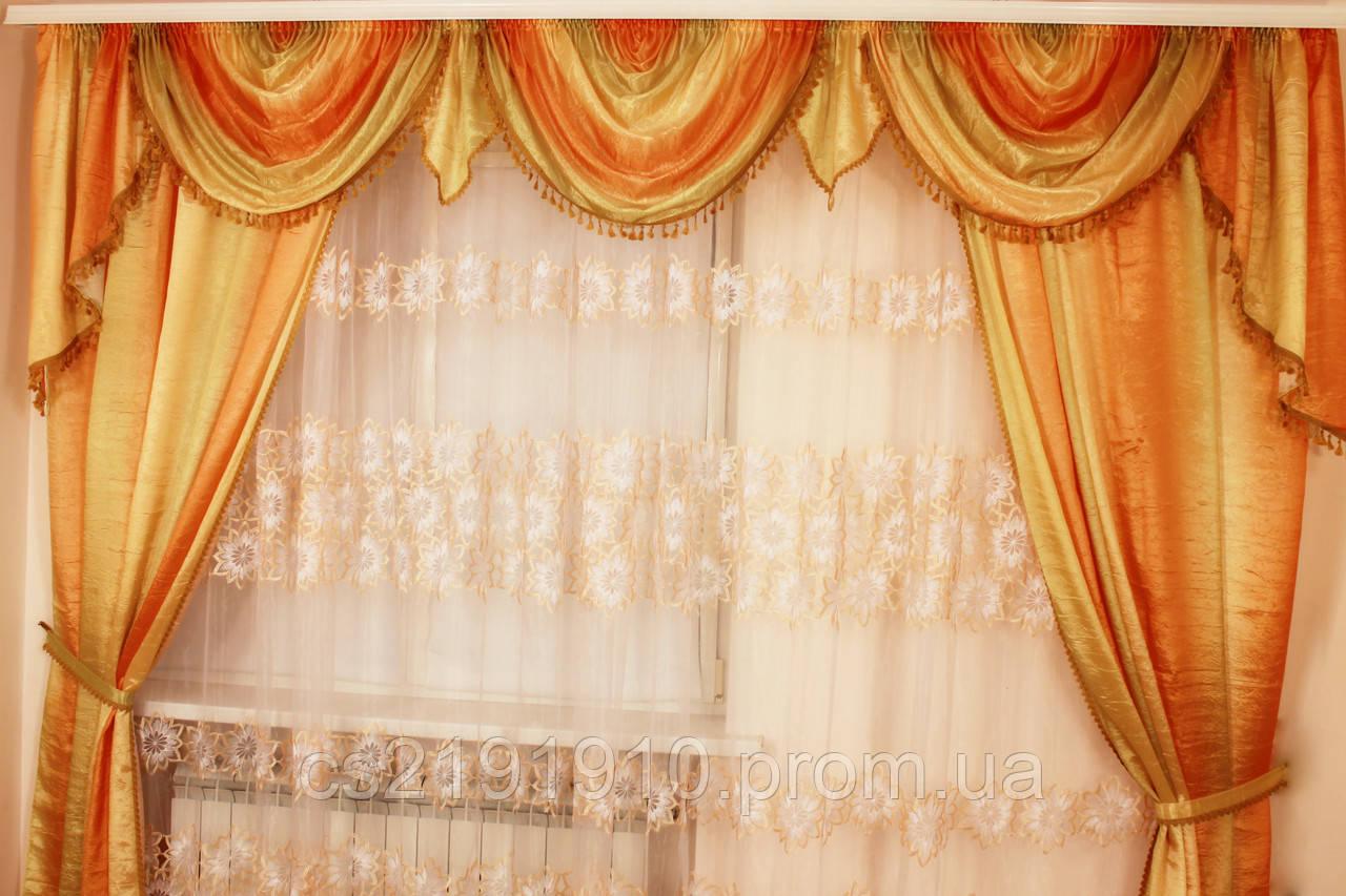 Шторы для гостиной Виктория, фото 1