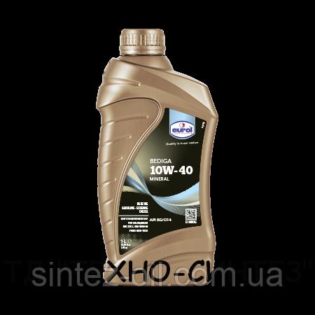Минеральное моторное масло Eurol Bediga 10W-40 (1л)