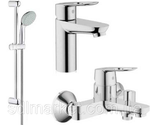 Набор смесителей GROHE BauLoop 123214S для ванны 3 в 1