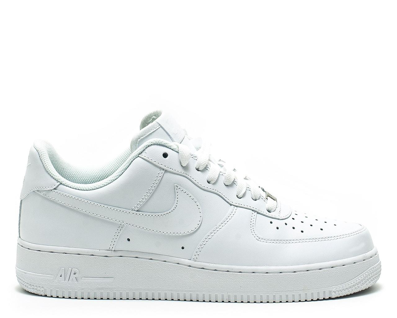 ... Кроссовки Air Force 1 White Оригинал Nike мужские Найк Аир Форс белые cdb2d915dfeb3