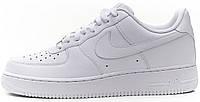 Кроссовки Air Force 1 White Оригинал Nike мужские Найк Аир Форс белые