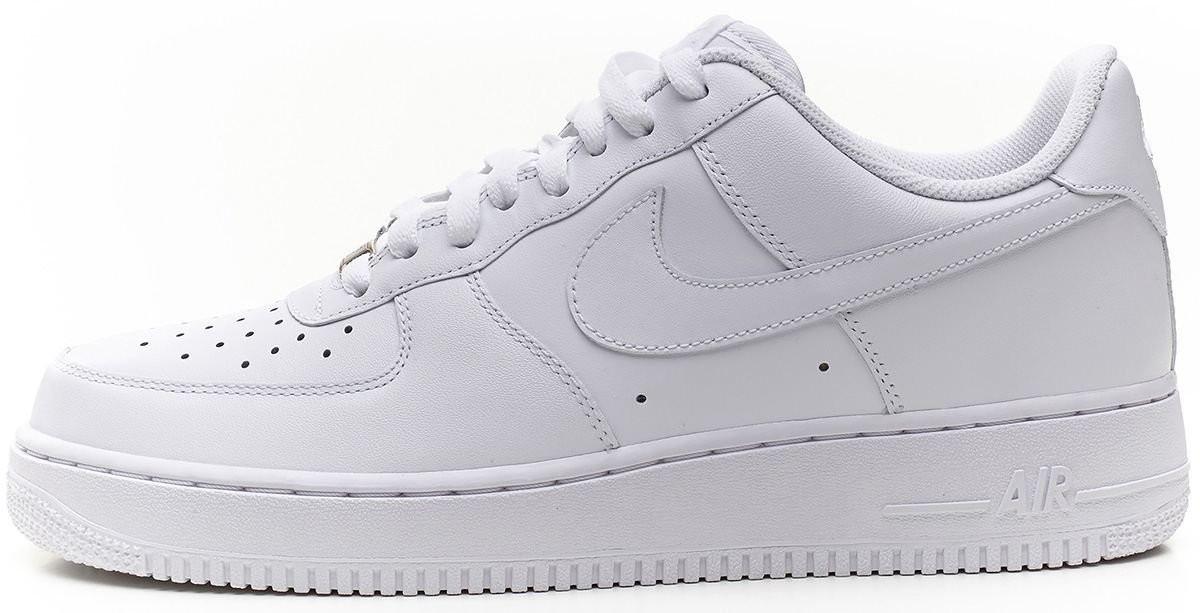 a38d9231 Кроссовки Air Force 1 White Оригинал Nike мужские Найк Аир Форс белые -  LetsDress-Shop