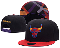 Кепка Mitchell & Ness NBA Chicago Bulls Snapback Black/Red