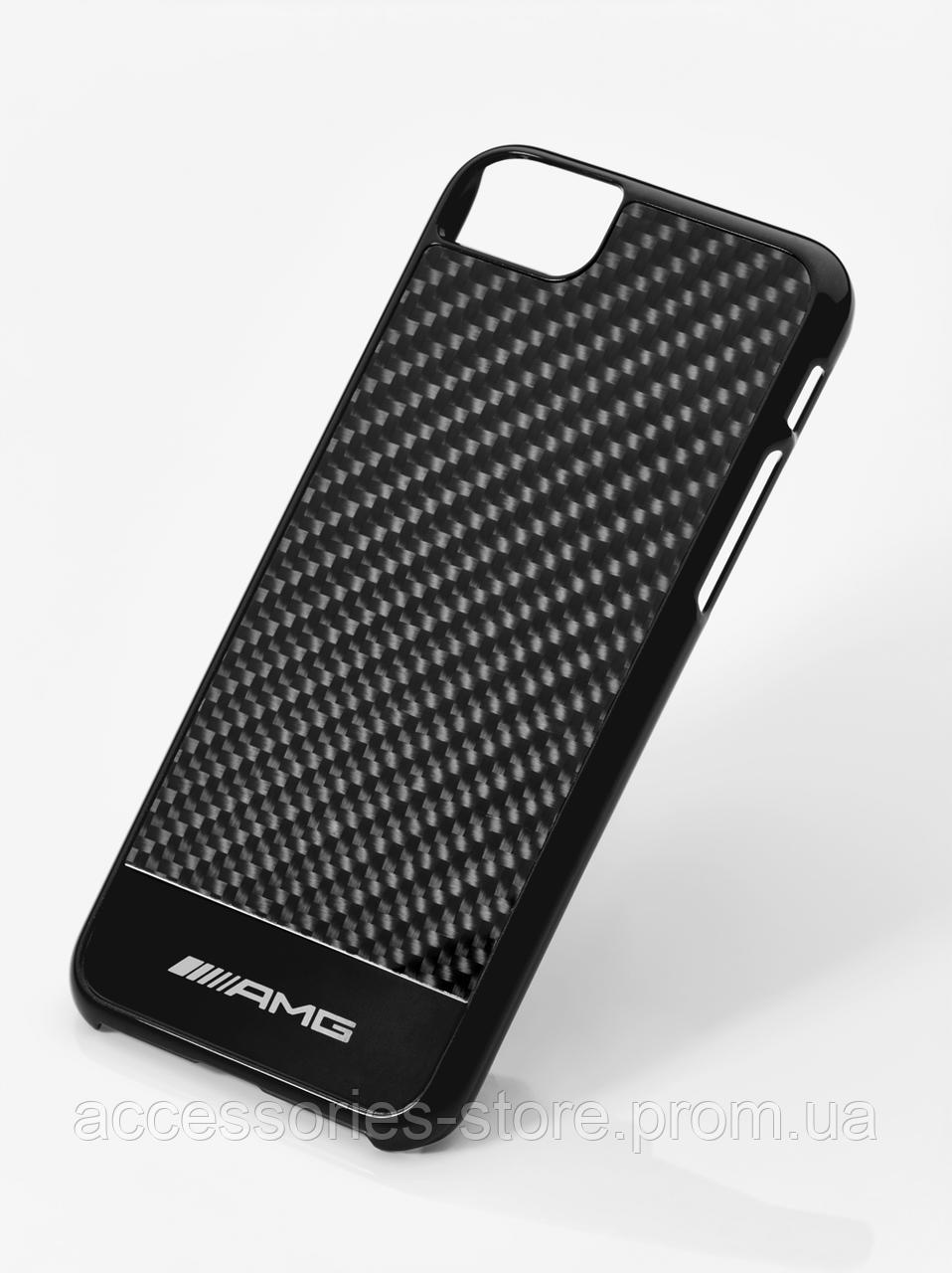 Чехол для iPhone 7 Mercedes-Benz AMG Cover for iPhone® 7, Black carbon