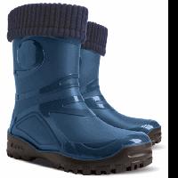 Демисезонные резиновые сапоги Demar YOUNG 2 FUR A (синие)