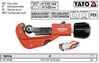 труборез YATO Польша труборіз роликовый Ø=3-32 YT-22338