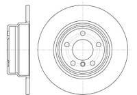 Тормозной диск задний Roadhouse RH 6632.00 для Bmw X5 (E53) 05.2000-12.2006