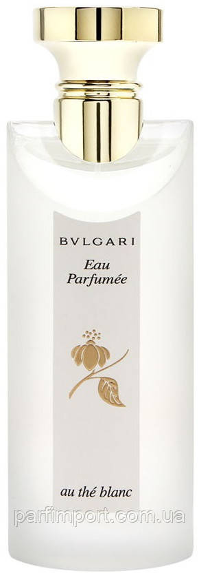 Bvlgari Eau Parfumee au the Blanc Woman TESTER edc 75 ml  парфюм унисекс (оригинал подлинник  Италия)