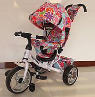 Детский трехколесный велосипед Tilly Trike T-344