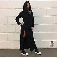 Женское длинное макси Стильное Платье - Монах с капюшоном в пол Ноэлла