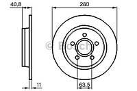 Тормозной диск задний Bosch 986479253 для Volvo C70 Ii Кабрио 03.2006-02.2007