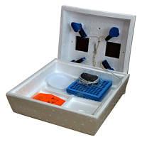 Инкубатор Наседка-120 (72), ручной переворот, цифровой, литой пенопластовый корпус, 4 лампочки, фото 1
