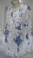Рубашка женская летняя большого размера