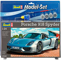 Model Set Автомобиль Porsche 918 Spyder, 1:24, Revell