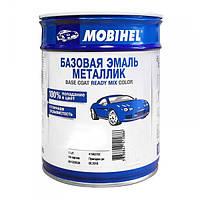 Краска металлик, базовая эмаль Mobihel Мокрый асфальт 626 1л