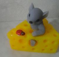 Мыло Мышка в сыре.
