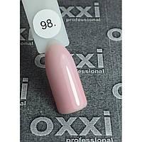 Гель лак Oxxi № 98 (светлый нежно-розовый эмаль)