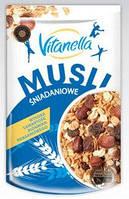 Мюсли Vitanella Musli Snidankoveс добавлением изюма и орехов, 350 g